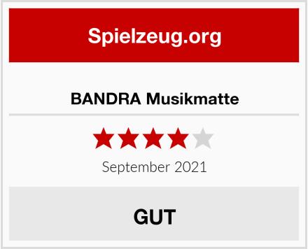 BANDRA Musikmatte Test