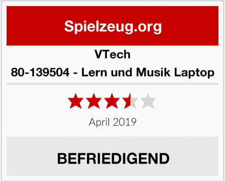 VTech 80-139504 - Lern und Musik Laptop Test