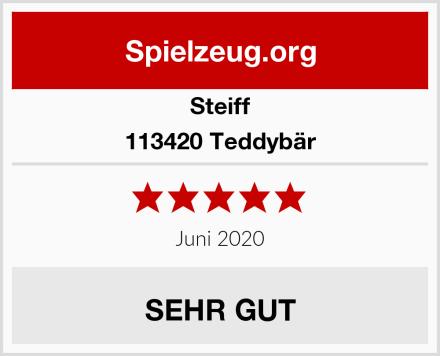 Steiff 113420 Teddybär Test