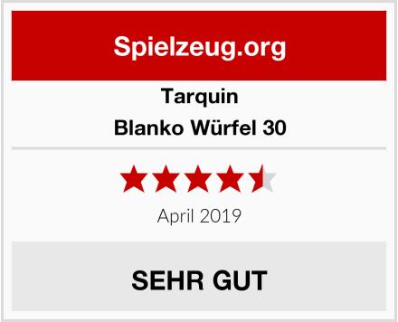Tarquin Blanko Würfel 30 Test