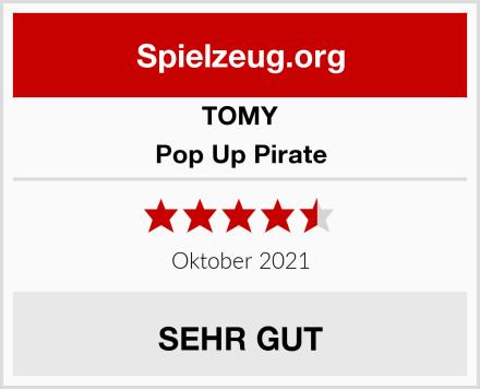 TOMY Pop Up Pirate Test