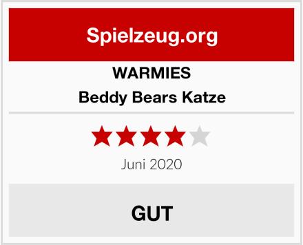 WARMIES Beddy Bears Katze Test