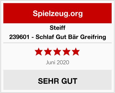 Steiff 239601 - Schlaf Gut Bär Greifring Test