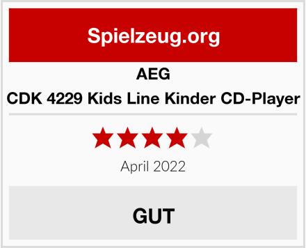 AEG CDK 4229 Kids Line Kinder CD-Player Test