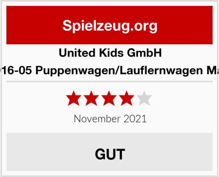 United Kids GmbH 13016-05 Puppenwagen/Lauflernwagen Marie Test