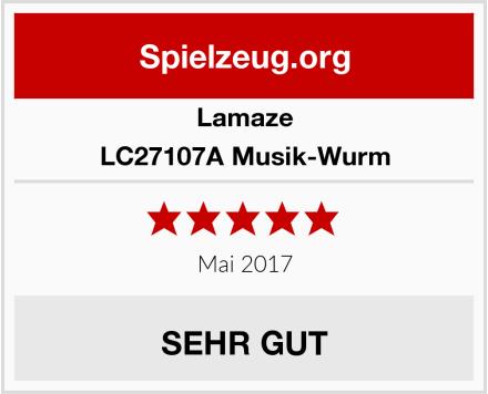 Lamaze LC27107A Musik-Wurm Test