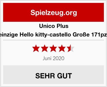 Unico Plus Bau einzige Hello kitty-castello Große 171pz 8676 Test