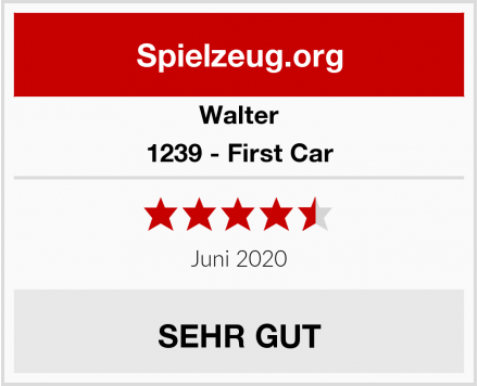 Walter 1239 - First Car Test