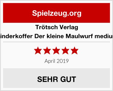 Trötsch Verlag Kinderkoffer Der kleine Maulwurf medium Test