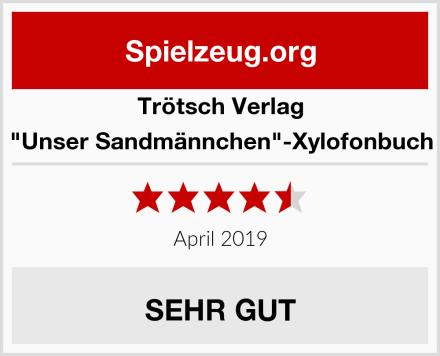 """Trötsch Verlag """"Unser Sandmännchen""""-Xylofonbuch Test"""