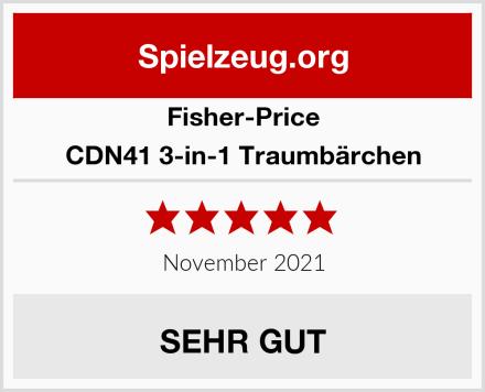 Fisher-Price CDN41 3-in-1 Traumbärchen Test