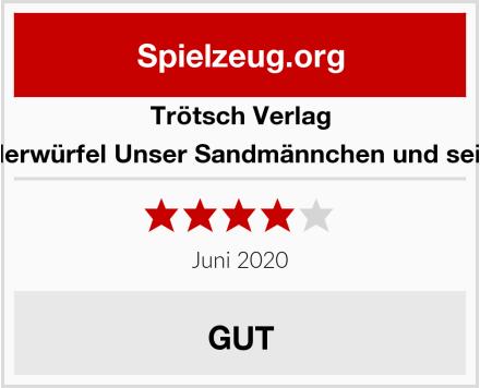 Trötsch Verlag 48442 - Bilderwürfel Unser Sandmännchen und seine Freunde Test