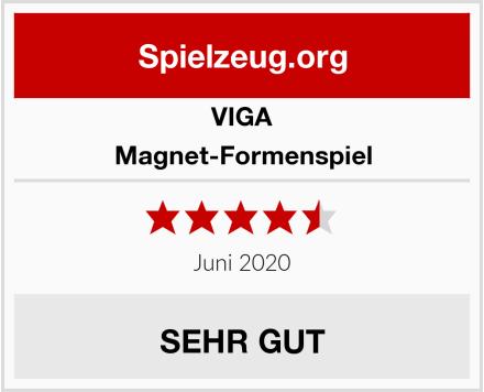 VIGA Magnet-Formenspiel Test