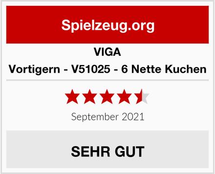VIGA Vortigern - V51025 - 6 Nette Kuchen Test