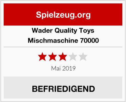 Wader Quality Toys Mischmaschine 70000 Test