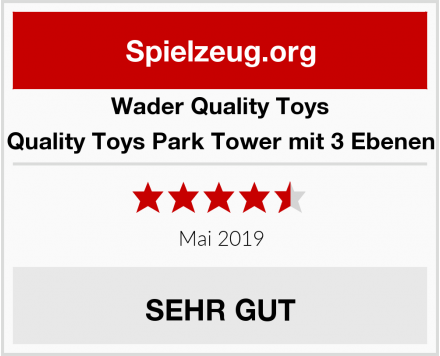 Wader Quality Toys Quality Toys Park Tower mit 3 Ebenen Test