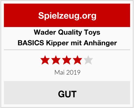 Wader Quality Toys BASICS Kipper mit Anhänger Test