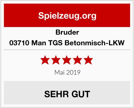 BRUDER 03710 Man TGS Betonmisch-LKW Test