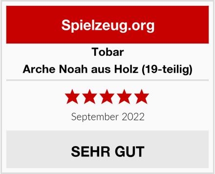 Tobar Arche Noah aus Holz (19-teilig) Test
