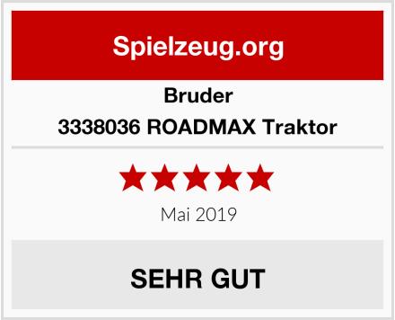 BRUDER 3338036 ROADMAX Traktor Test