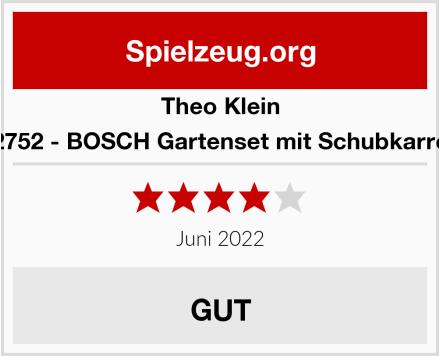 Theo Klein 2752 - BOSCH Gartenset mit Schubkarre Test