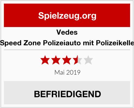 Vedes Großhandel GmbH Speed Zone Polizeiauto mit Polizeikelle Test