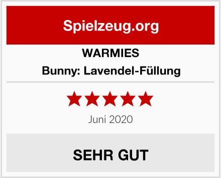 WARMIES Bunny: Lavendel-Füllung Test