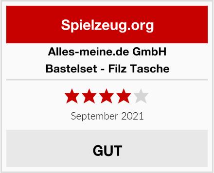alles-meine.de GmbH Bastelset - Filz Tasche Test