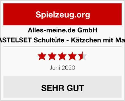 alles-meine.de GmbH BASTELSET Schultüte - Kätzchen mit Maus Test