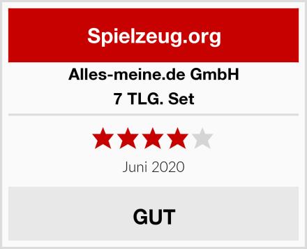 alles-meine.de GmbH 7 TLG. Set Test