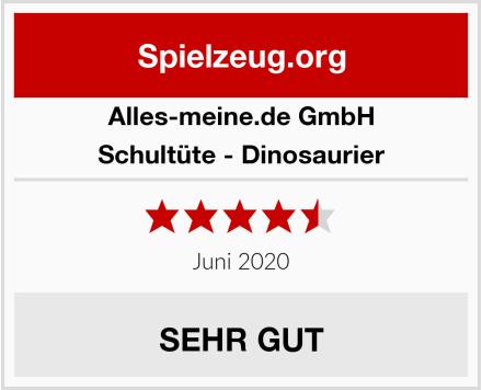 alles-meine.de GmbH Schultüte - Dinosaurier Test