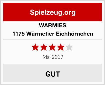 WARMIES 1175 Wärmetier Eichhörnchen Test