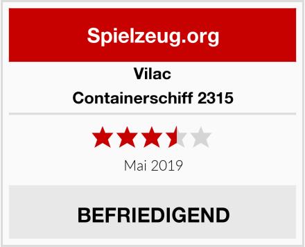 Vilac Containerschiff 2315 Test