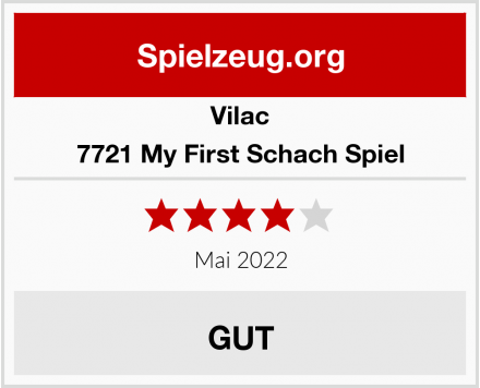 Vilac vilac7721 My First Schach Spiel Test