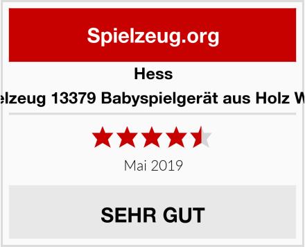 Hess Holzspielzeug 13379 Babyspielgerät aus Holz Waldtiere Test