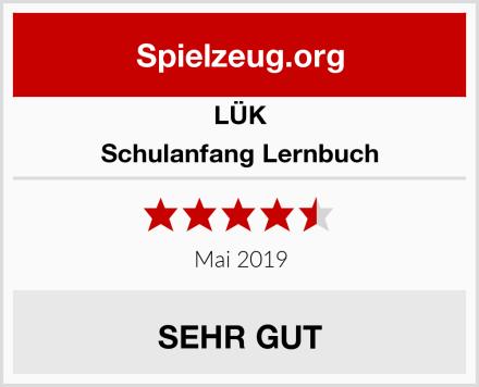 LÜK Schulanfang Lernbuch Test