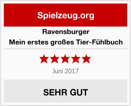 Ravensburger Mein erstes großes Tier-Fühlbuch Test