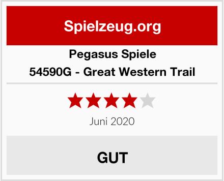 Pegasus Spiele 54590G - Great Western Trail Test