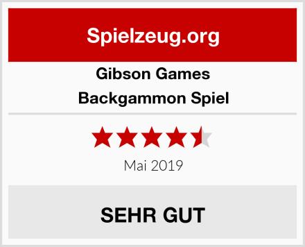 Gibson Games Backgammon Spiel Test