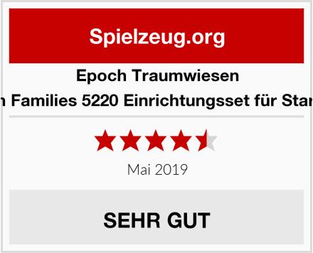 Epoch Traumwiesen Sylvanian Families 5220 Einrichtungsset für Starter Haus Test