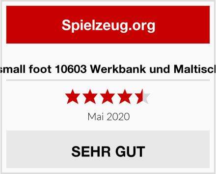 small foot 10603 Werkbank und Maltisch Test
