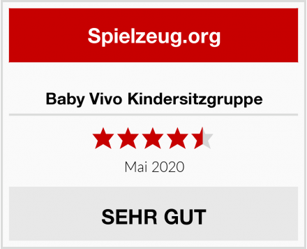 Baby Vivo Kindersitzgruppe Test