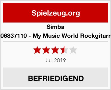 Simba 106837110 - My Music World Rockgitarre Test