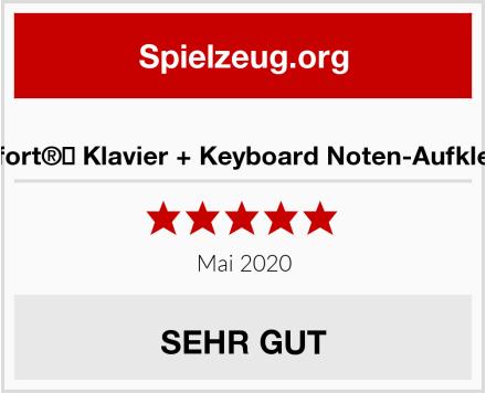 Belfort®️ Klavier + Keyboard Noten-Aufkleber Test