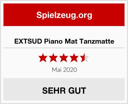 EXTSUD Piano Mat Tanzmatte Test