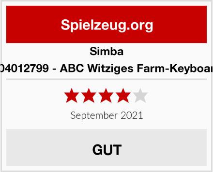 Simba 104012799 - ABC Witziges Farm-Keyboard Test