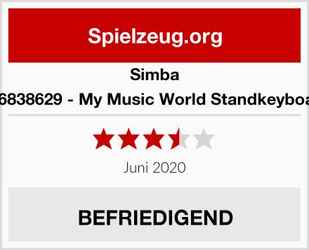 Simba 106838629 - My Music World Standkeyboard Test