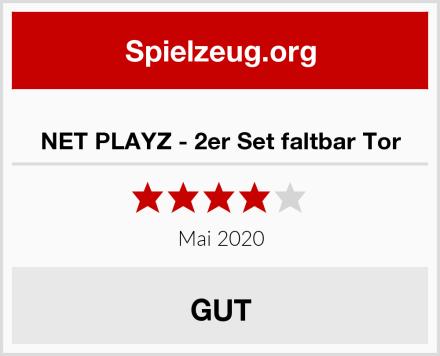 NET PLAYZ - 2er Set faltbar Tor Test