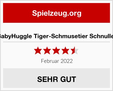 BabyHuggle Tiger-Schmusetier Schnuller Test