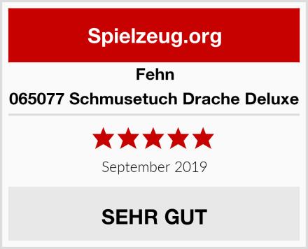 Fehn 065077 Schmusetuch Drache Deluxe Test